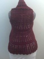 Nikkia Vest (Back View)