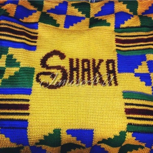 Shaka's Kente Inspired Keepsake