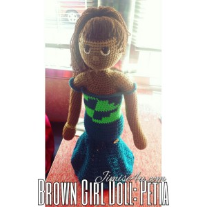 Brown Girl Doll: Petia